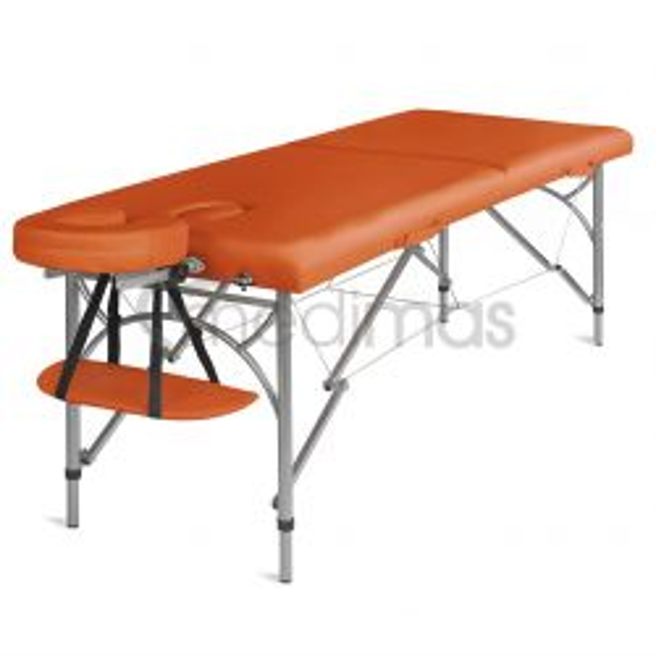 Skladací dvojdielny hliníkový masážny stôl Ultra 2