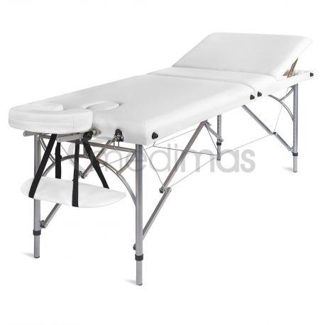 Masážny stôl prenosný hliníkový trojdielny Ultra3